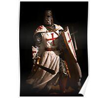 Maltese Knight Poster