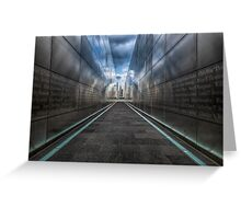 Empty Sky 9/11 Memorial Greeting Card