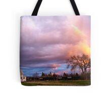 Kalispell Sunset - South Tote Bag