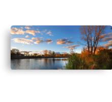 Paint The Sky With Autumn Canvas Print