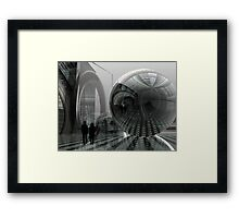 The new future Framed Print