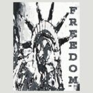 FREEDOM TEE-4 by DarrellMoseley