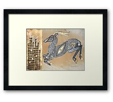 Leaps and Bounds (The Impala) Framed Print