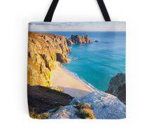 Treen Cliffs Tote Bag