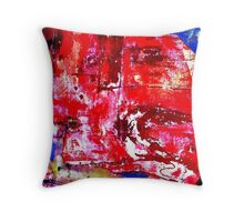 Parched Dry Land Throw Pillow