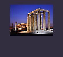 The Temple of Olympian Zeus & the Acropolis Unisex T-Shirt