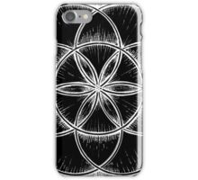 Sacred Geometry: Seed of Life - Sketchy iPhone Case/Skin