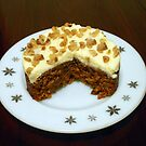 Scrumptious Carrot Cake by kathrynsgallery