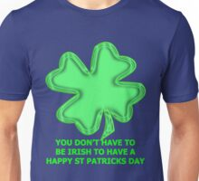 shamrock t for non-irish Unisex T-Shirt