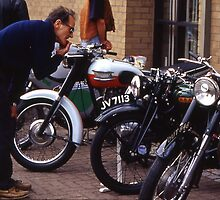 classic bike show,sleaford by JohnHDodds
