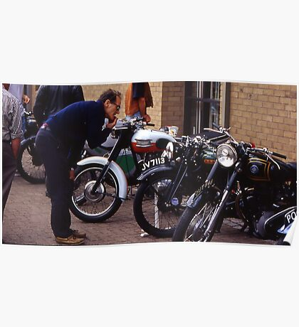 classic bike show,sleaford Poster