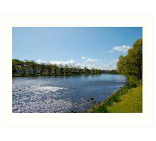 The River Ness: Inverness, Scotland Art Print