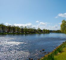 The River Ness: Inverness, Scotland by ScottishVet