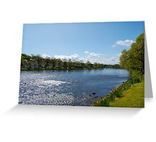 The River Ness: Inverness, Scotland Greeting Card