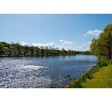 The River Ness: Inverness, Scotland Photographic Print