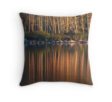 Speyside Reflections, Scotland Throw Pillow
