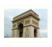 Arc de Triomphe: Paris, France Art Print