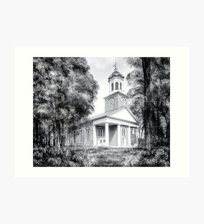 Saint Paul's Episcopal Church - Historic Augusta Georgia Art Print