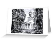 Saint Paul's Episcopal Church - Historic Augusta Georgia Greeting Card