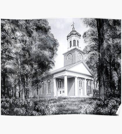 Saint Paul's Episcopal Church - Historic Augusta Georgia Poster