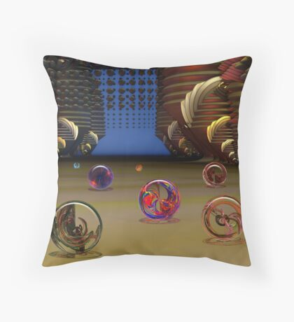 Human Artifacts Throw Pillow