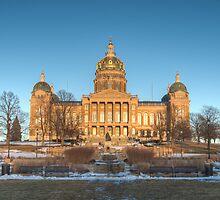 Capitol Building - Des Moines by Marcus Krigsman