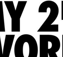FRIDAY - 2nd Favorite F Word Sticker