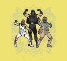 ¡Los Empiradores! - Vader Muerto, EstormoFederalé y El Boba Kids Tee