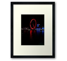 Evening at the London Eye Framed Print