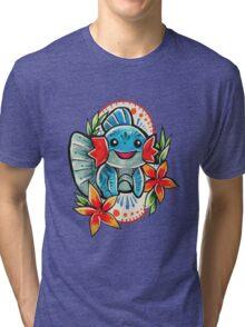 Mudkip Tri-blend T-Shirt