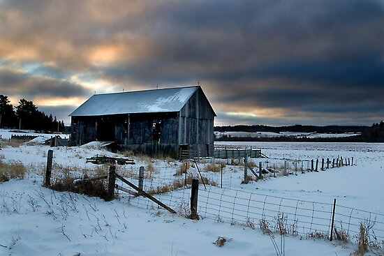 Country Barn, Leeburn, Ontario Canada by Eros Fiacconi (Sooboy)