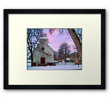 Old Time Religion Framed Print