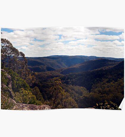 Cathedral Rocks National Park Poster