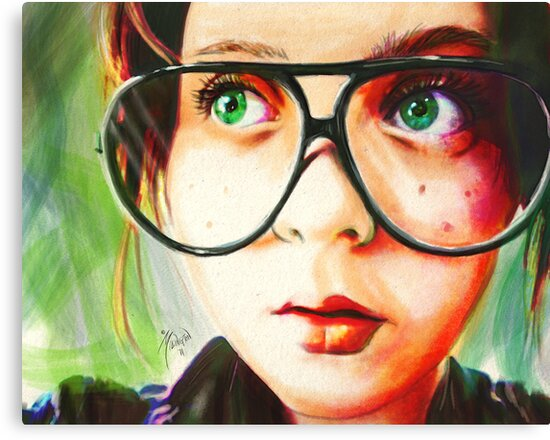 Alice's Glasses by Roland Millington