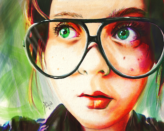 Alice's Glasses by Roland Millington