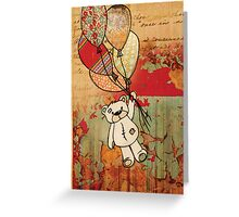 patch bear 2 Greeting Card