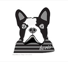 Boris Print by artefacts