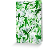 Prosperity Abstract Greeting Card