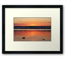 Sand's Point of View Framed Print