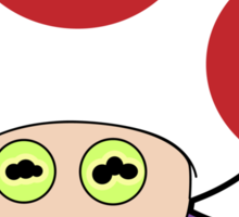 All Glory to Hypno Toad Sticker