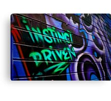 Instinct Driven Canvas Print