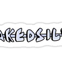 Naked Silver Sticker