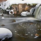 Snowy Creek by Adam Bykowski