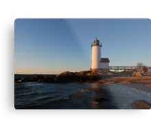 Annisquam Light at Sunset - Gloucester, Massachusetts Metal Print