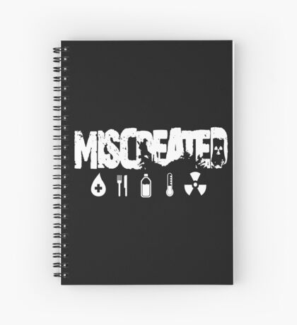 Miscreated Design 2 Black (Official) Spiral Notebook