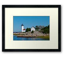 Annisquam Light Trio - Gloucester, Massachusetts Framed Print