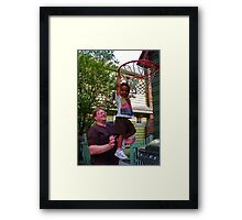 Slam, Dunk! Framed Print