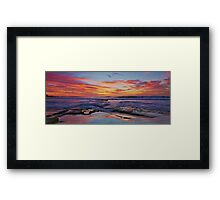 The Break Framed Print
