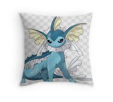 Mega Vaporeon Concept Throw Pillow