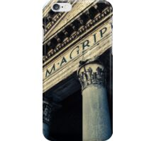 Rome - The Pantheon iPhone Case/Skin